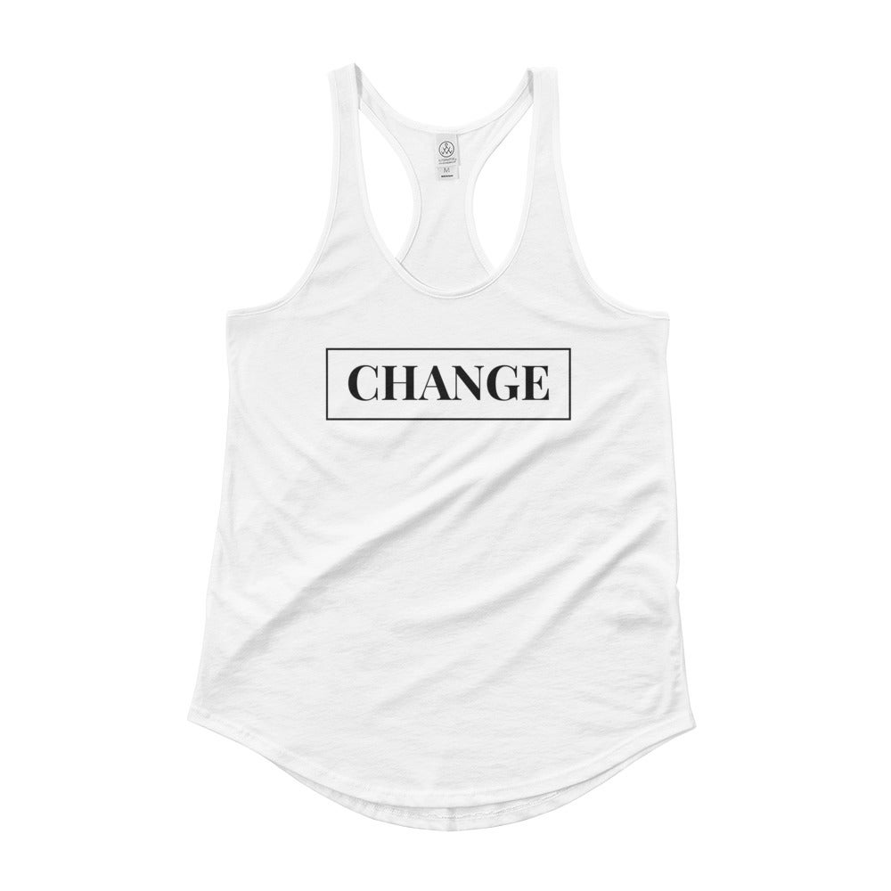 Image of Change Tank - White
