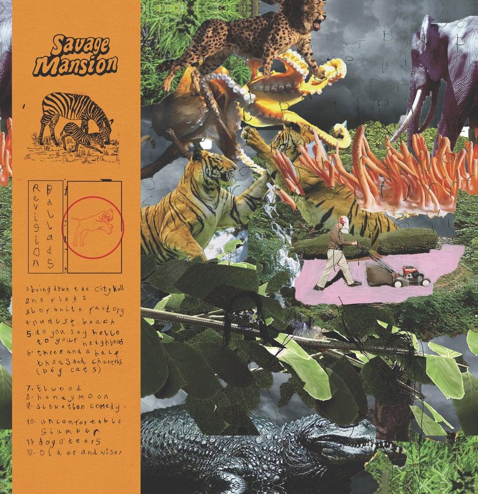 Image of Savage Mansion - Revision Ballads (LP)