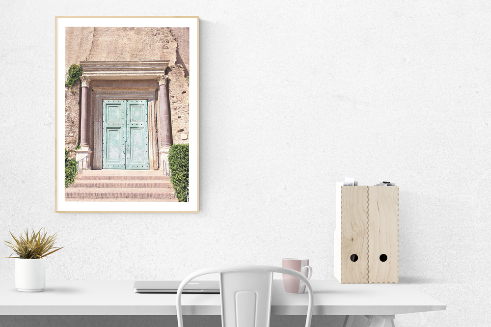 Image of THE DOOR Print - A3 size poster print