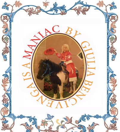 Image of MANIAC BY GIULIA BENCIVENGA