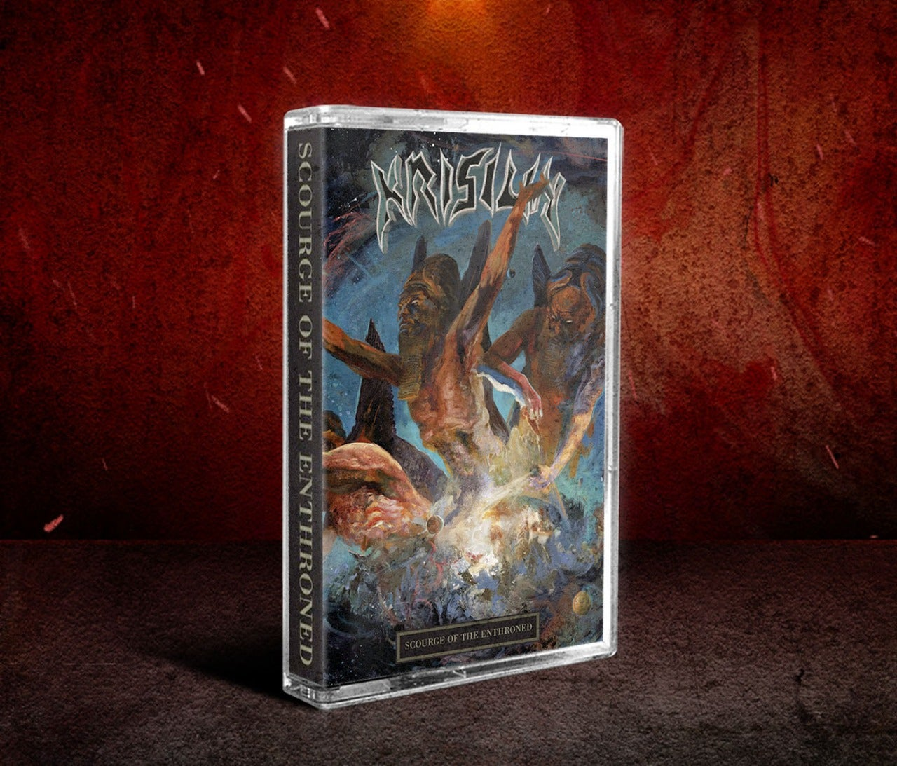 Image of KRISIUN - Scourge Of The Enthroned CD & Tape