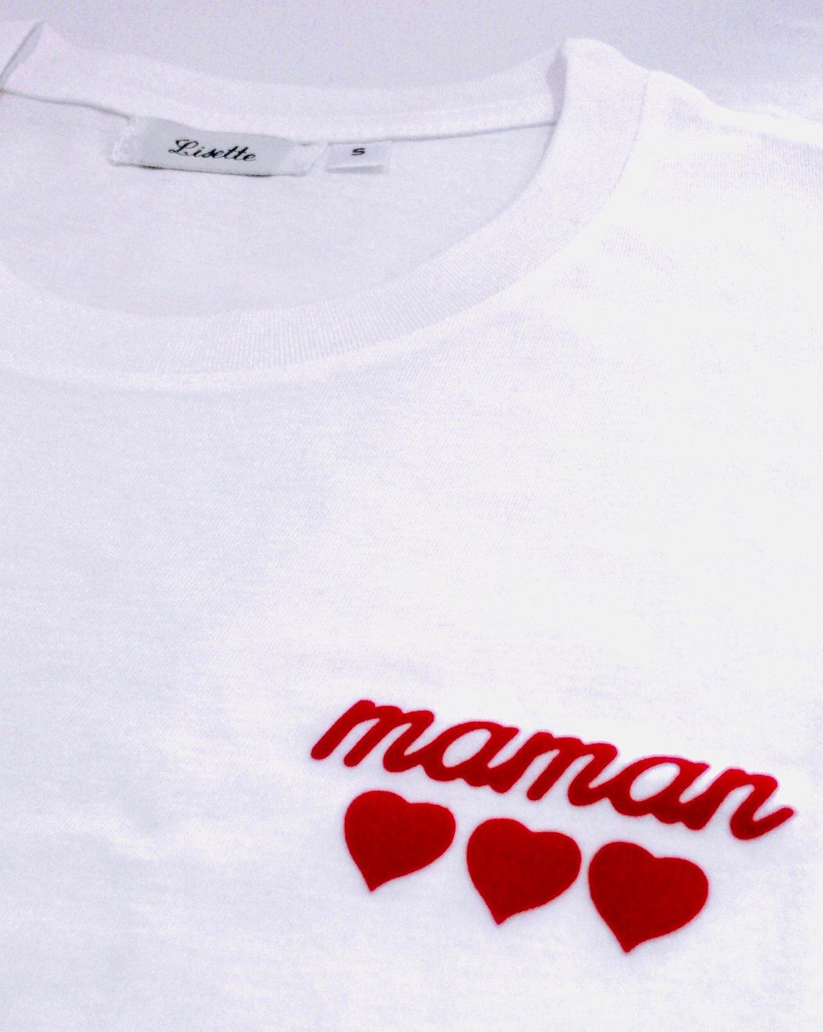 Image of T-Shirt Maman ♥️♥️♥️ LISETTE