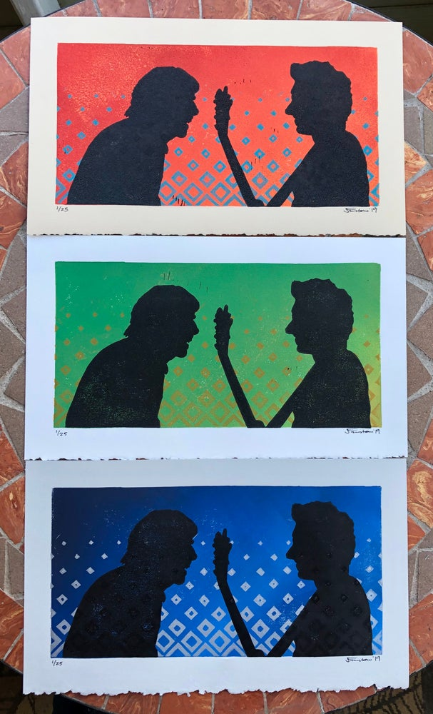 """Image of """"Old Friends"""" prints"""