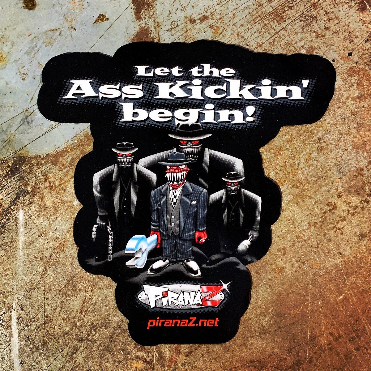 Image of Ass Kickin' Sticker