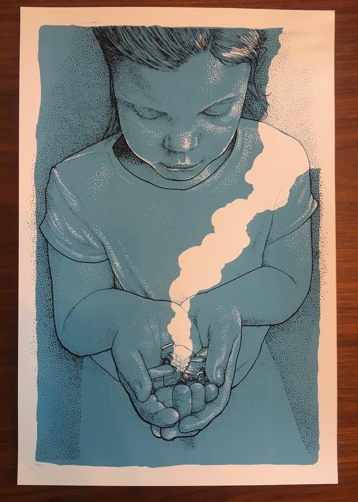 Image of Car Crash Art Print