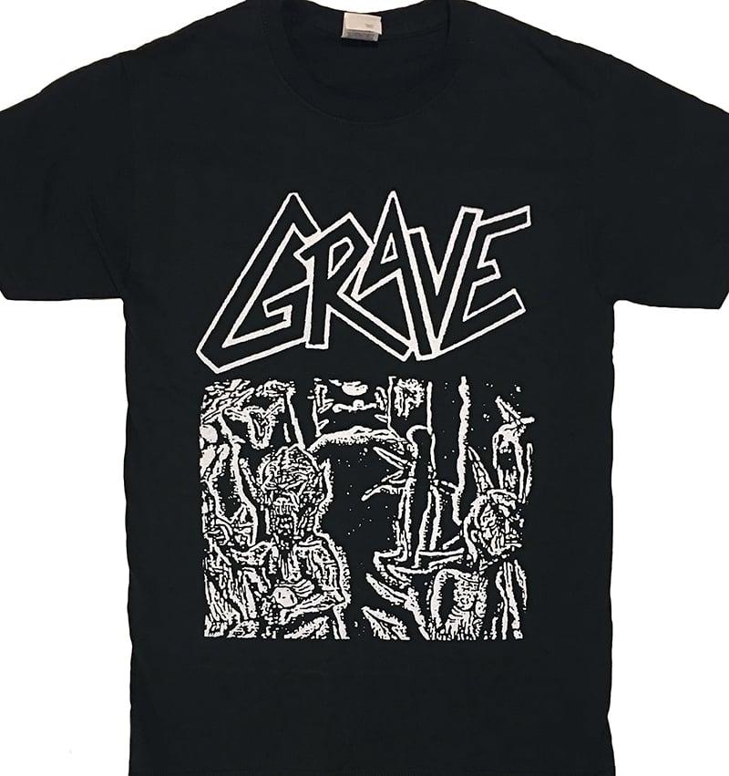 "Image of Grave "" Anatomia Corporis Humani "" Demo T shirt"