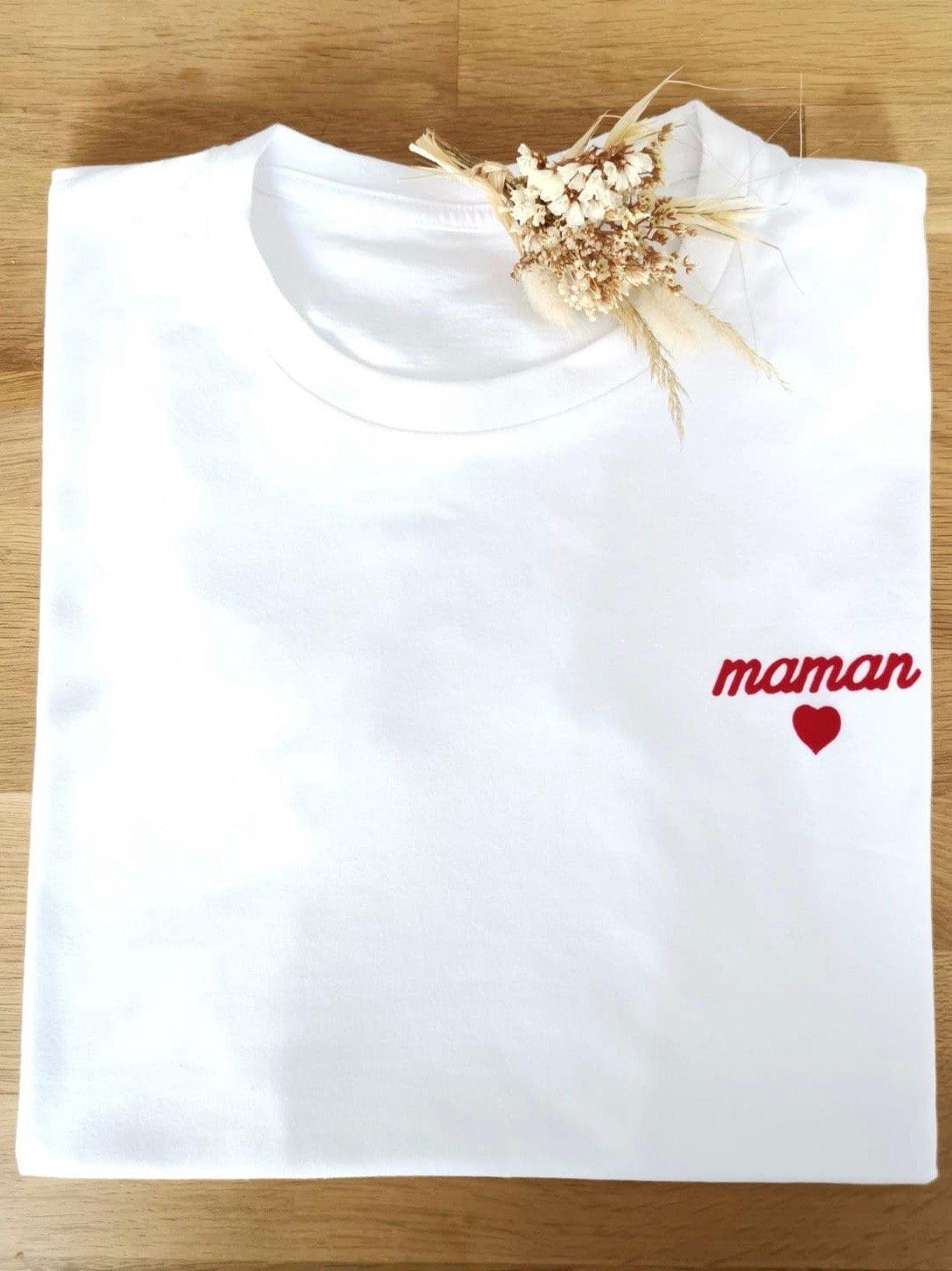 Image of Tee Shirt Maman ♥️ LISETTE