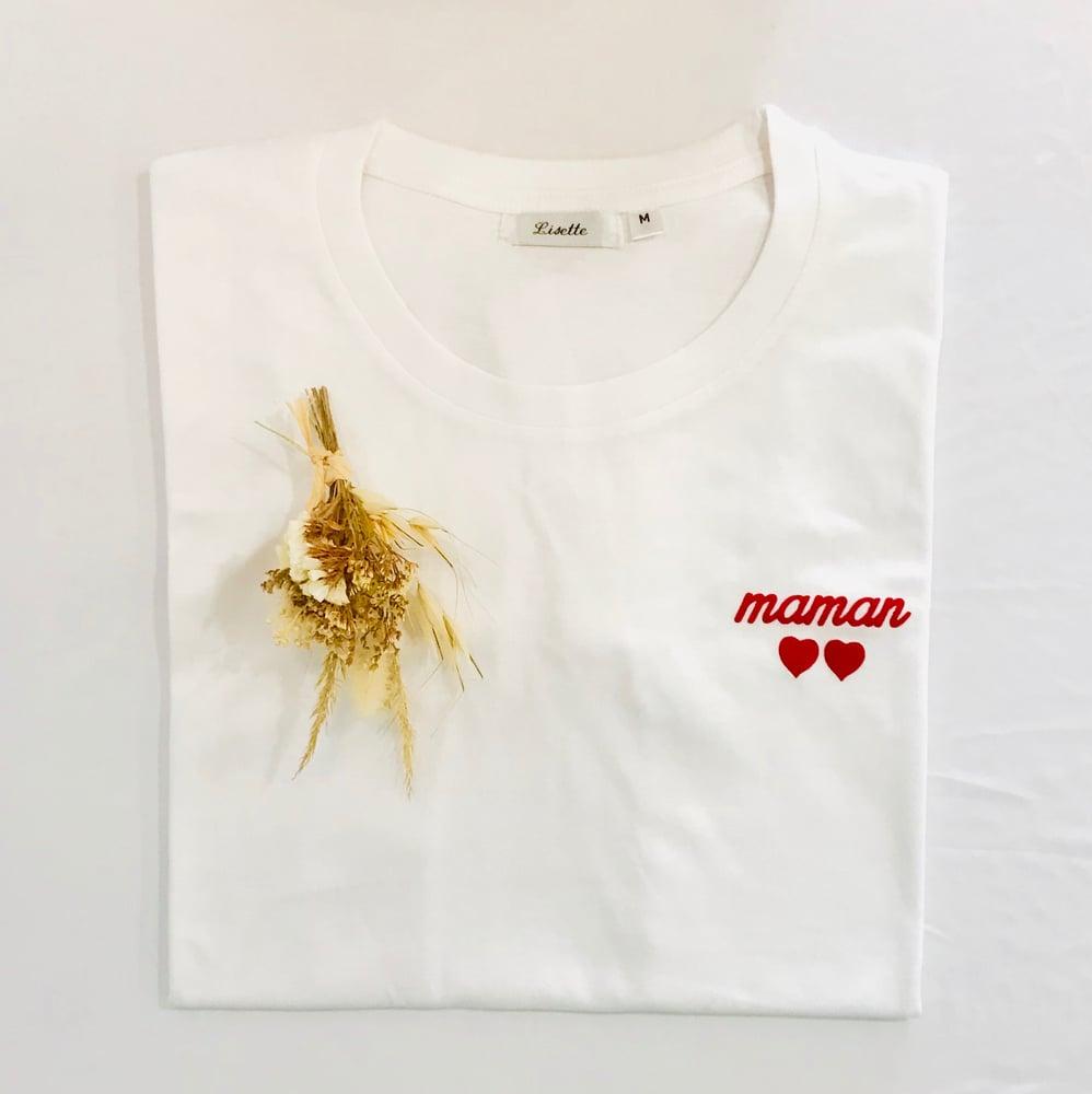 Image of Tee Shirt Maman ♥️♥️ LISETTE