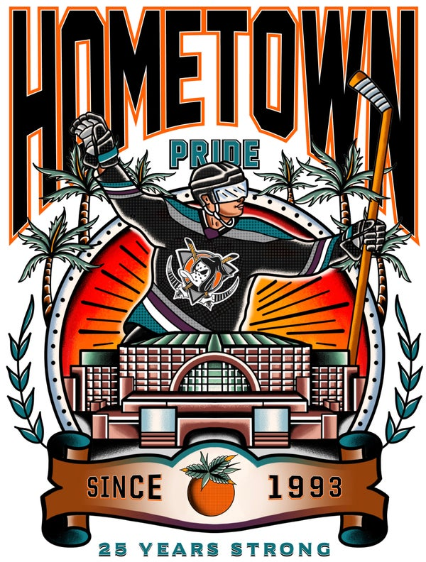Image of Hometown Pride 16x20 poster