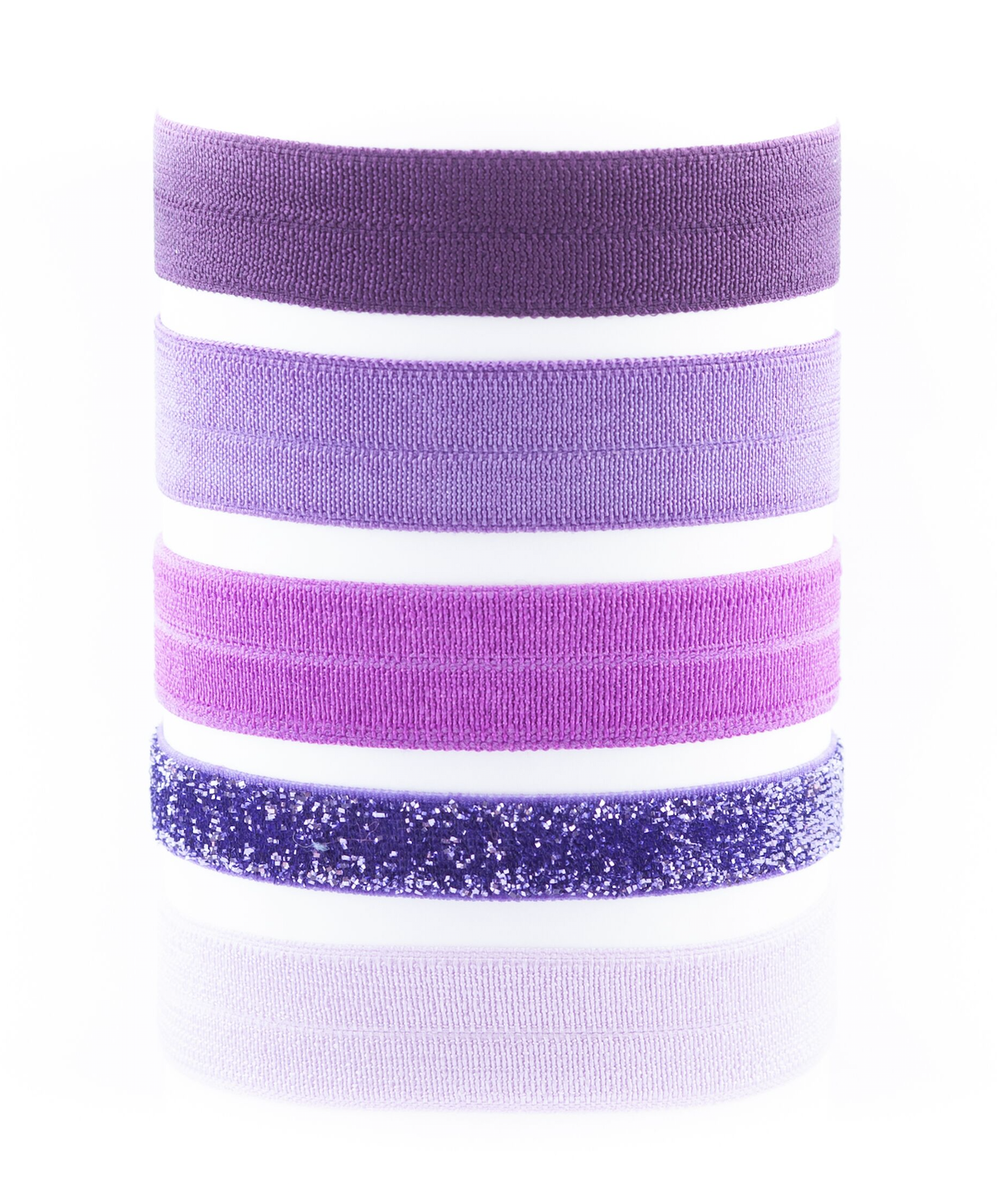 Image of CONSTANCE ROYAL PURPLE OMBRE HAIR TIES