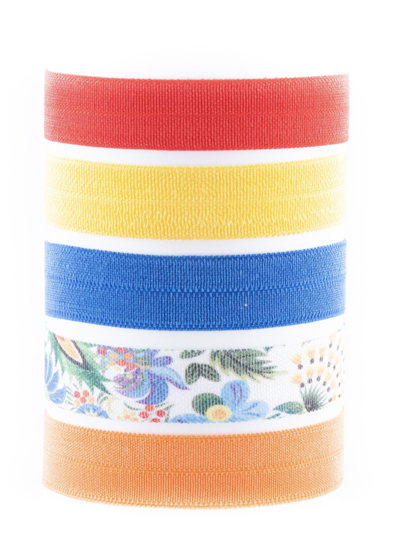 Image of CONSTANCE HAWAIIAN HAIR TIE PACK