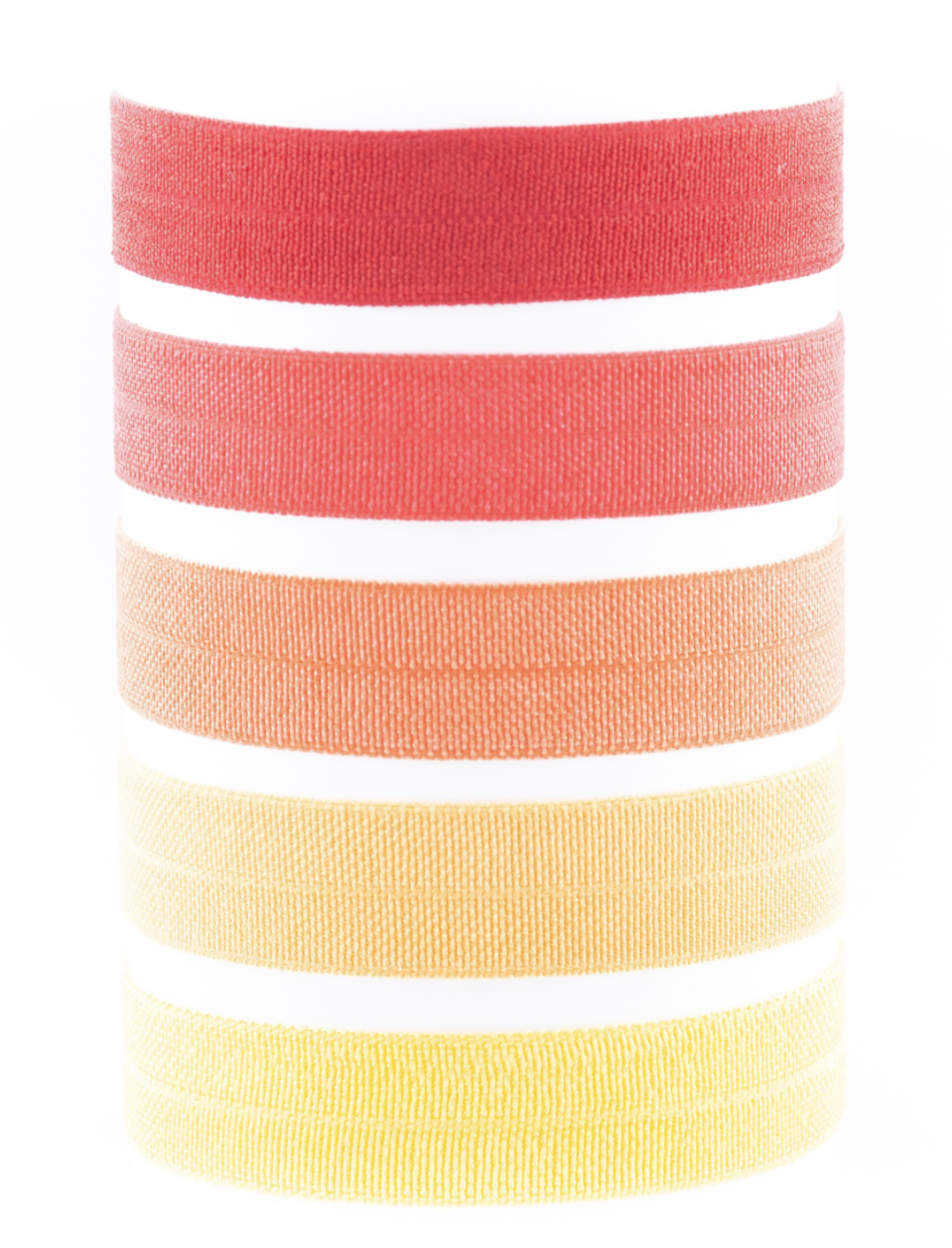 Image of CONSTANCE SUNRISE HAIR TIE PACK