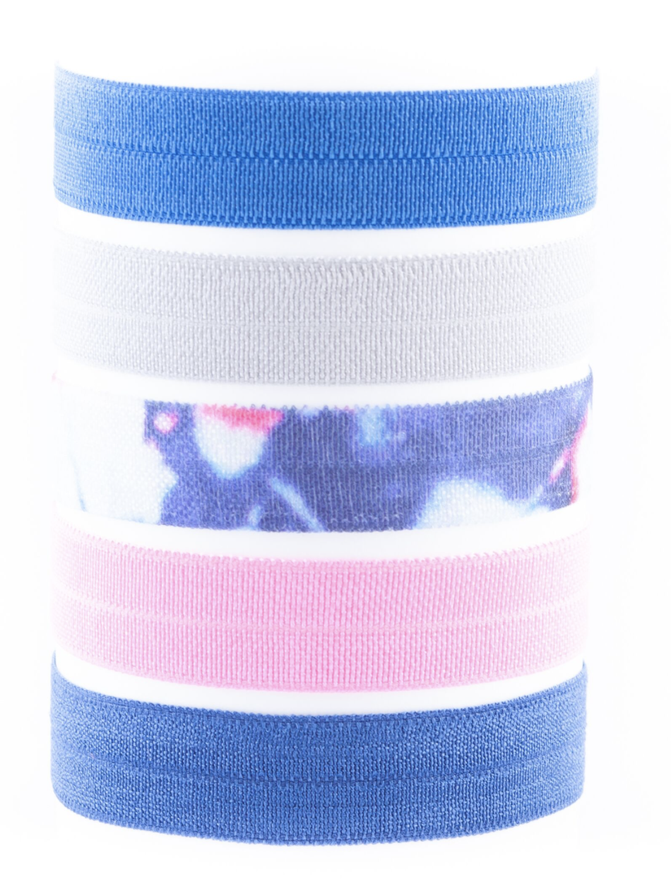 Image of • CONSTANCE PEACE AND LOVE HAIR TIE PACK •