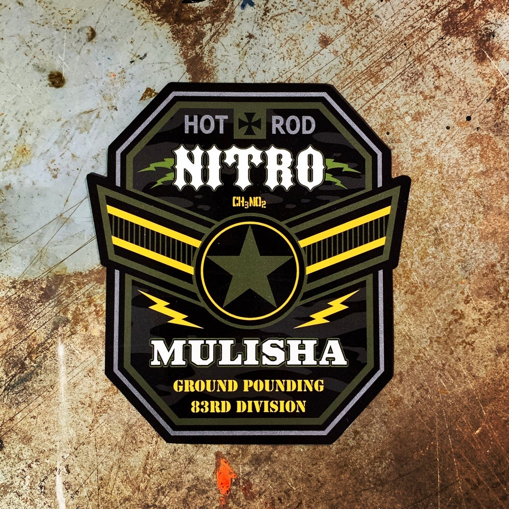 Image of Nitro Mulisha Sticker