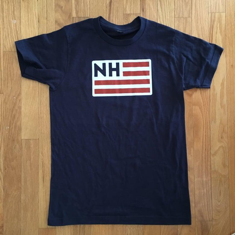 Image of NH Flag logo t-shirt - unisex