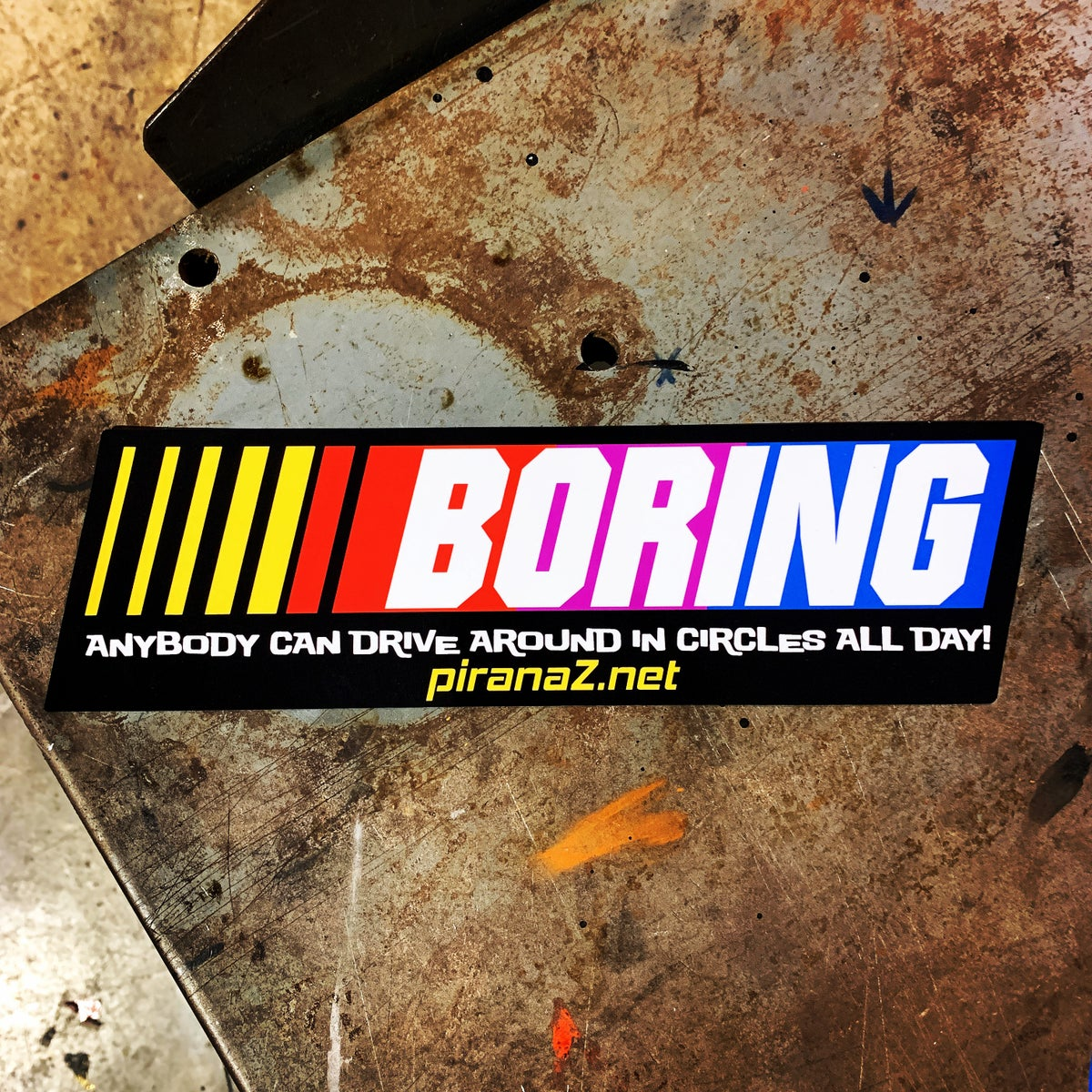 Image of Boring Sticker