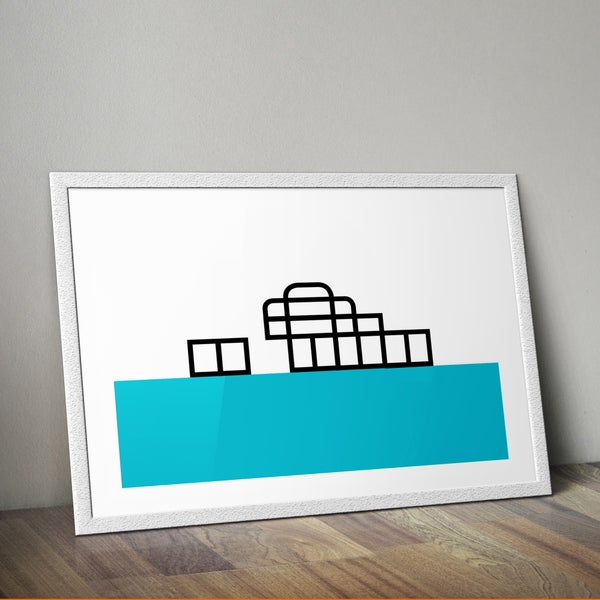 Image of Minimalistic West Pier