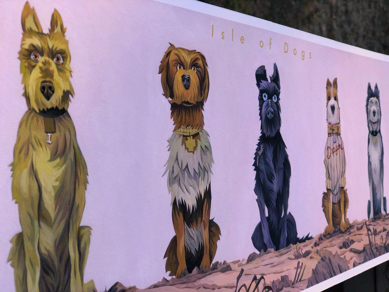 Image of Isle of Dogs Print Regular