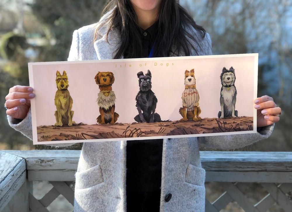 Isle of Dogs Print Regular