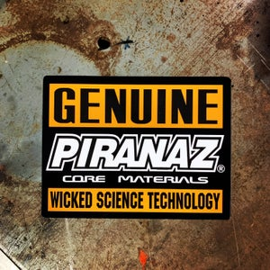 Image of Genuine PiranaZ Sticker