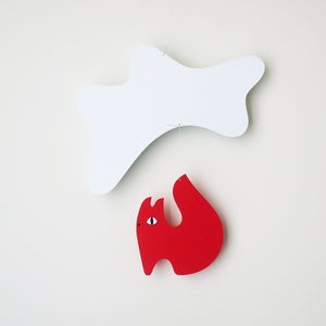 Image of Flash squirrel sky, paper mobile