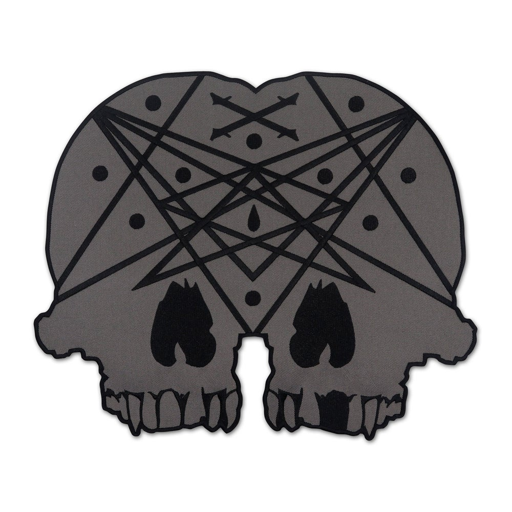 Image of Conjoined Skull Back Patch