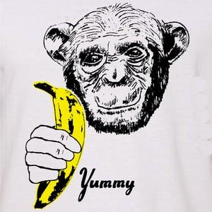 Image of Yummy Banana Chimp T-Shirt