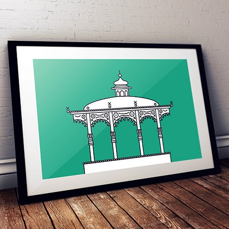 Image of Minimalistic Bandstand