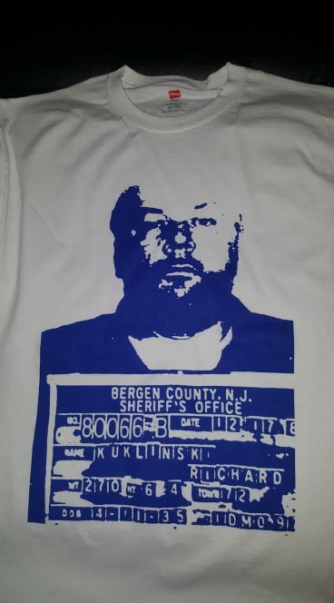 Image of CULT LEADER CLOTHING ICEMAN MUGSHOT SHIRT (IN STOCK)