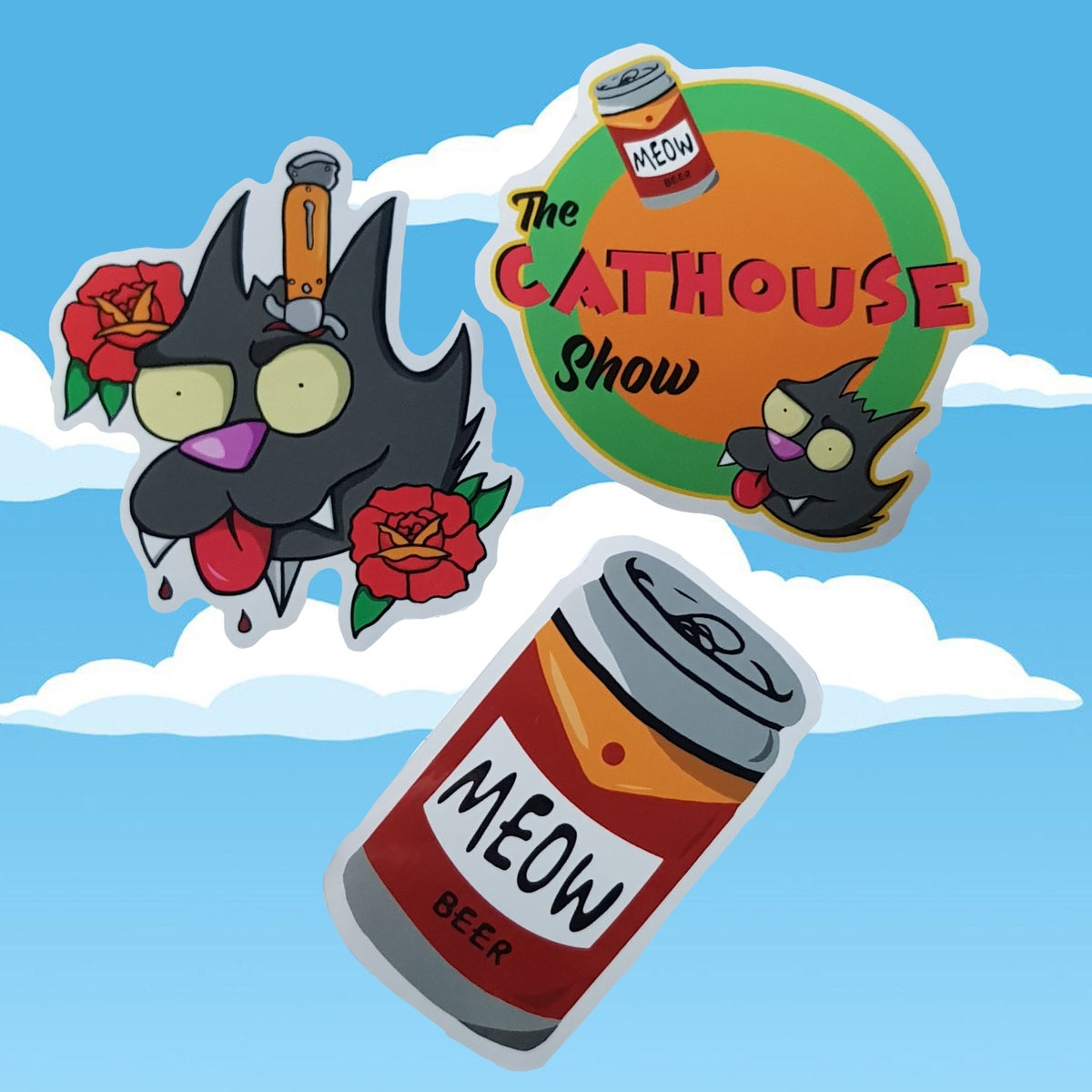 Image of Scratchouse Sticker Pack