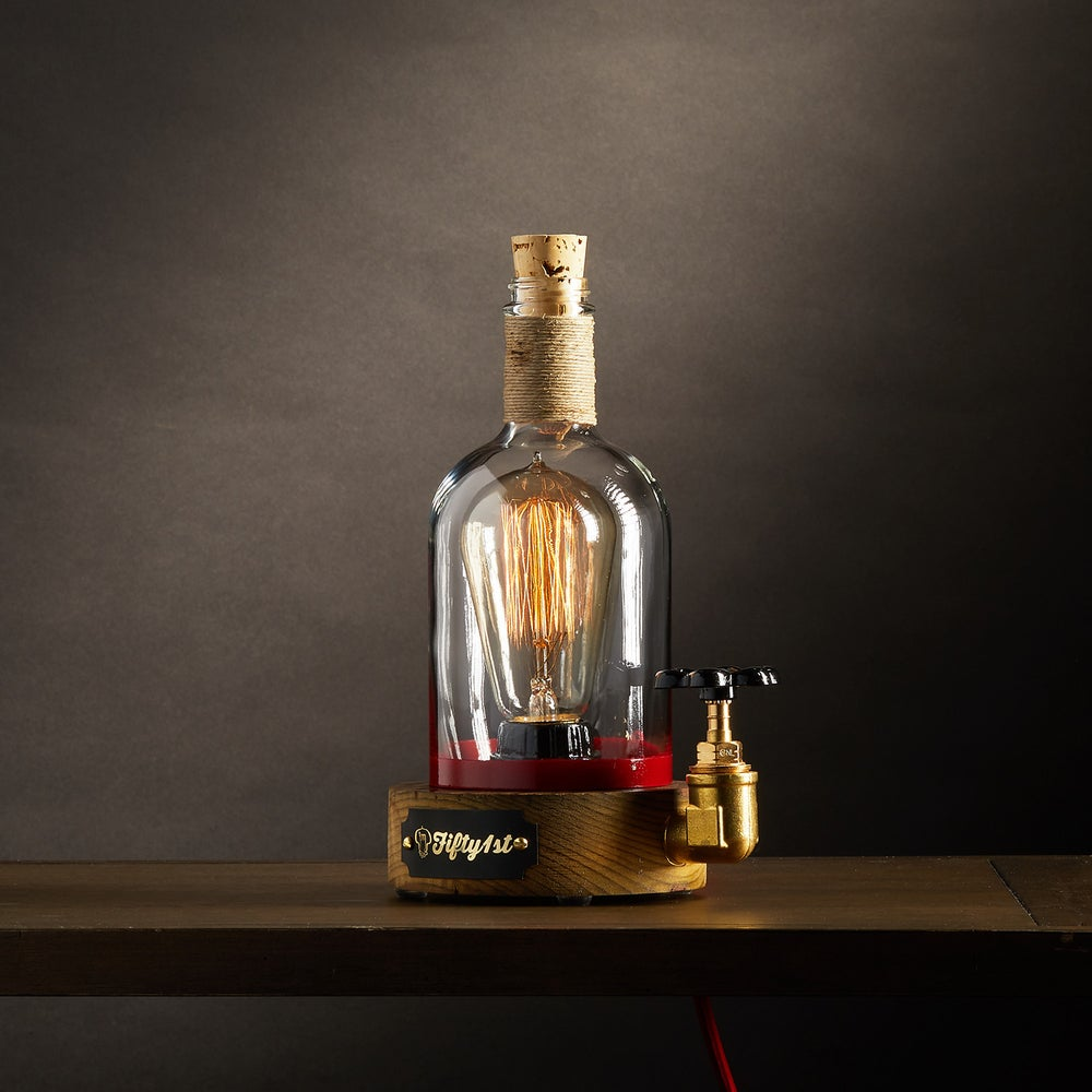 "Image of ""Elijah"" Bourbon Table Lamp"