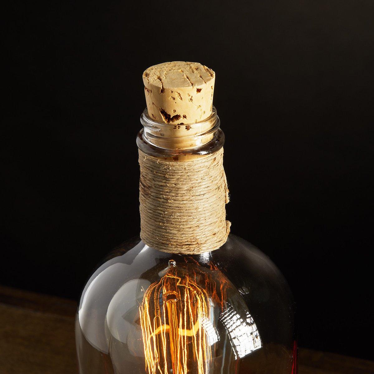 "Image of ""Elijah"" Bourbon Table Lamp"