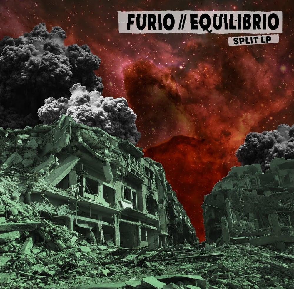 """Image of LADV115 - FURIO / EQUILIBRIO """"split"""" 12"""""""