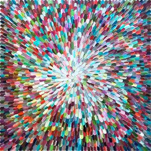 Image of Sanctus universum III - 100x100cm
