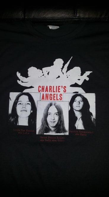 Image of CULT LEADER CLOTHING CHARLIES ANGELS T SHIRT (IN STOCK)