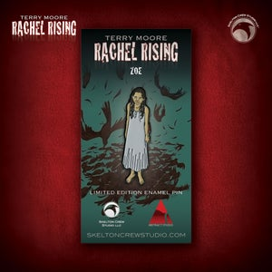 Image of Rachel Rising: Limited Edition Zoe enamel pin!