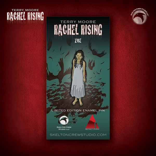 Image of Rachel Rising: Limited Edition Zoe enamel pin!