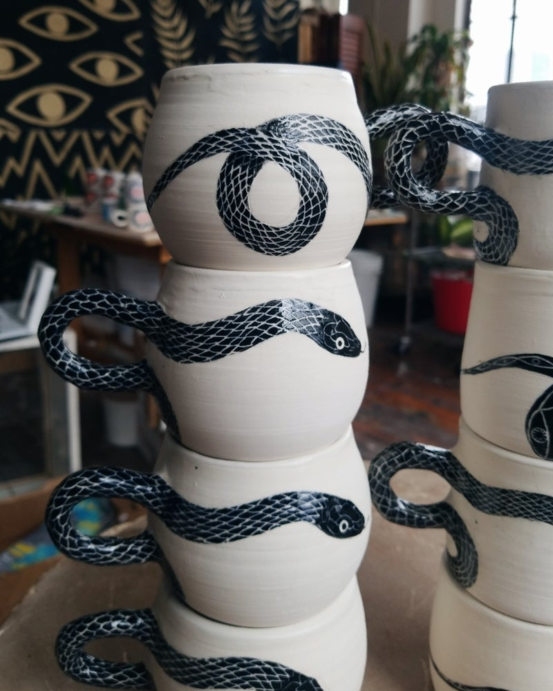 Image of Φίδι (Snake) mugs and cups
