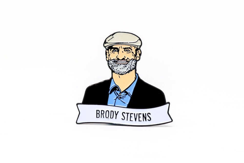 Image of Brody Stevens Enamel Pin