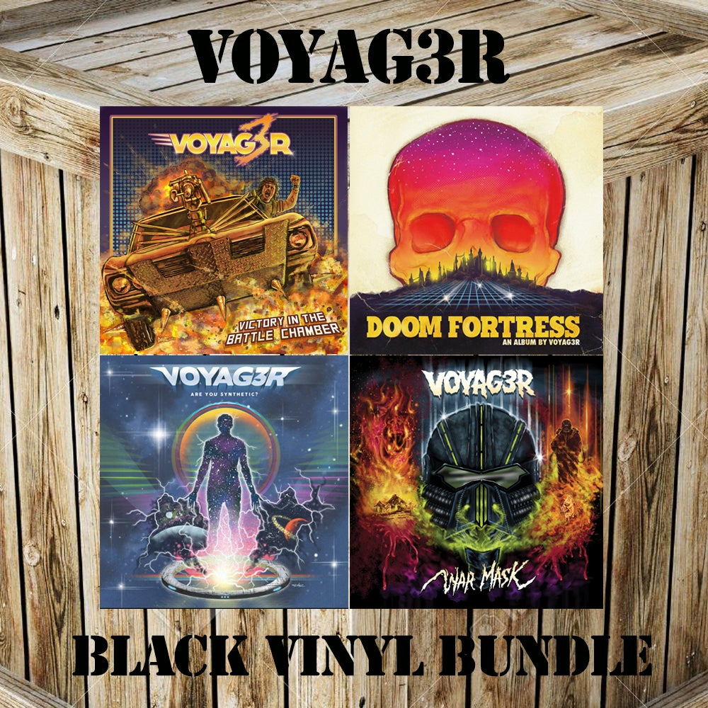 "Image of Voyag3r - 3xLP + 7"" Black Vinyl Bundle Deal"