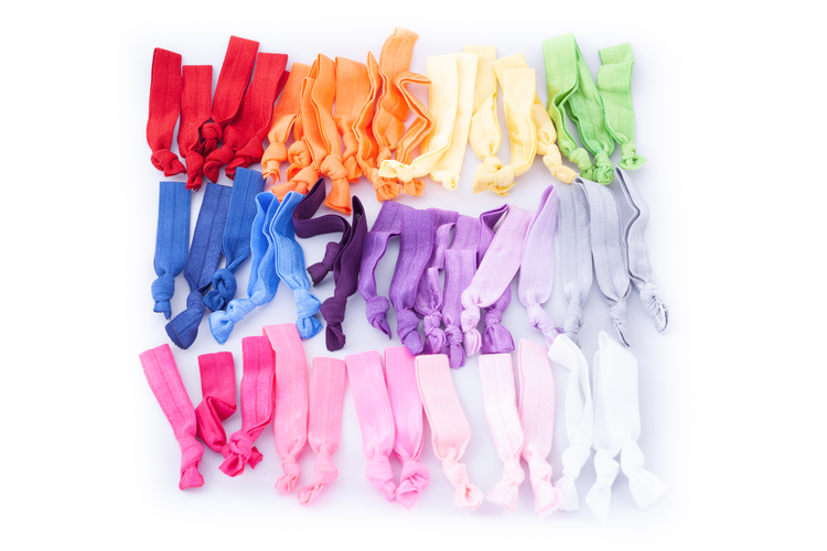Image of CONSTANCE RAINBOW MAGIC MEGA HAIR TIE PACK