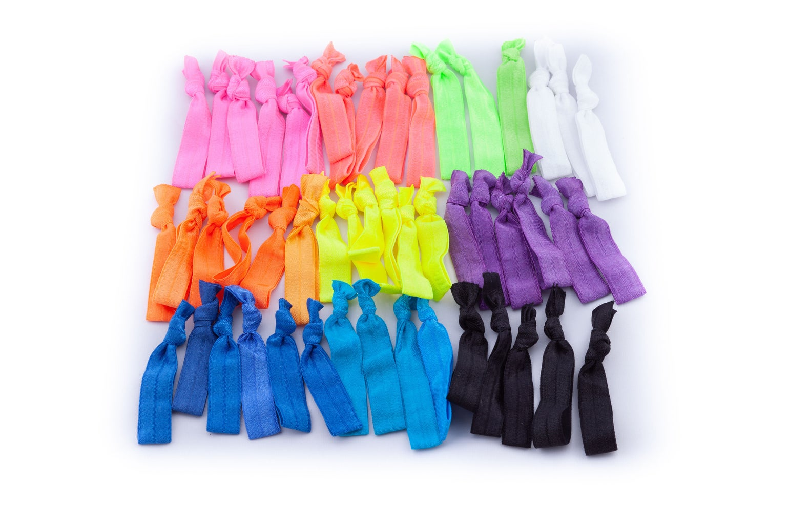 Image of CONSTANCE VIBRANT NEON MEGA HAIR TIE PACK