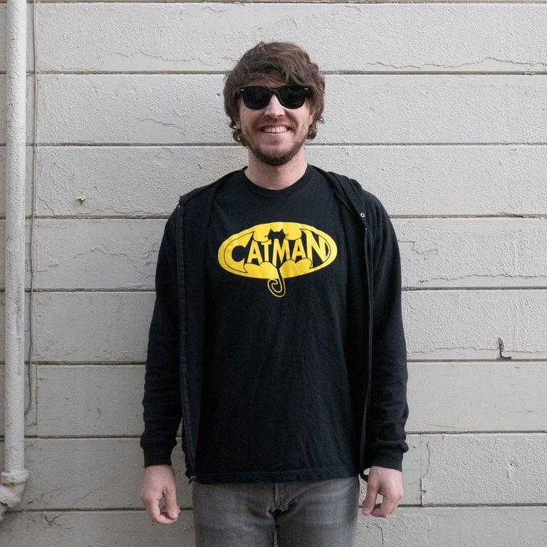 Image of Cat Man Logo T-Shirt