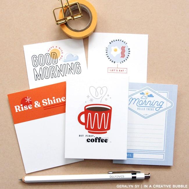Image of Good Morning Journaling Cards (Digital)