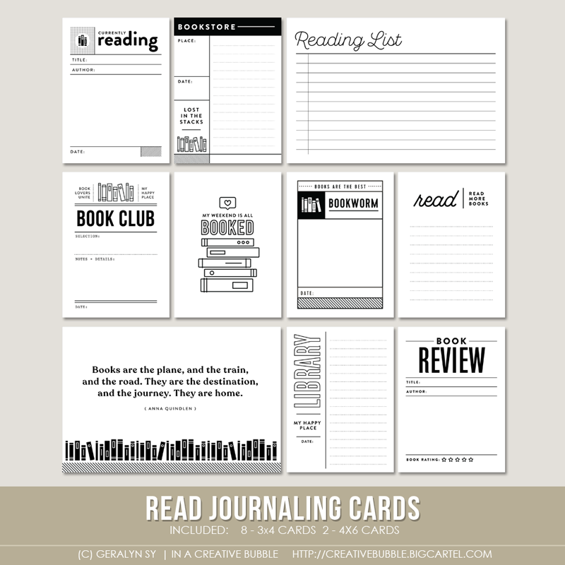 Image of Read Journaling Cards (Digital)