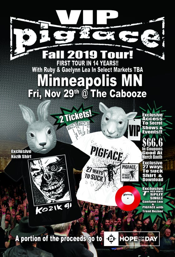 Image of VIP Fri, Nov 29 – Minneapolis, MN @ The Cabooze