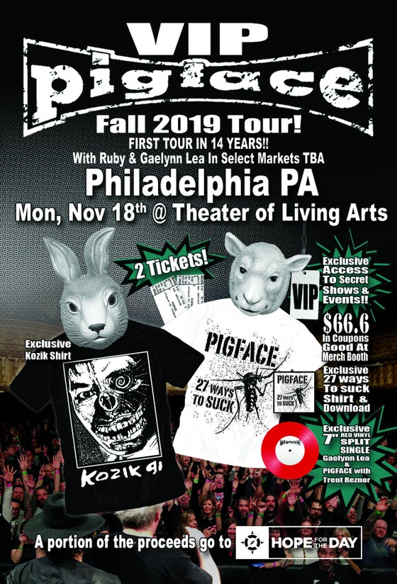 Image of VIP Mon, Nov 18 – Philadelphia, PA @ Theater of Living Arts