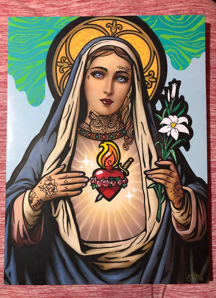 Image of Vandal Virgin Canvas