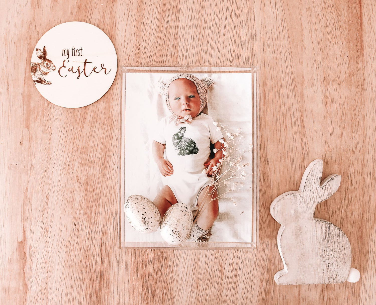 Image of My first Easter plaque