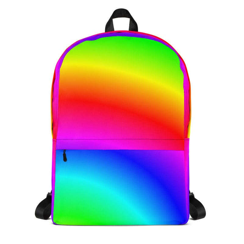 Image of Bright Rainbow Backpack